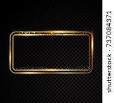 retro banner motel sign | Shutterstock .eps vector #737084371
