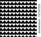 zigzag blocks background.... | Shutterstock .eps vector #737107231