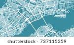 detailed vector map of bamako ... | Shutterstock .eps vector #737115259