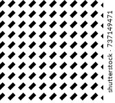black diagonal dashes abstract... | Shutterstock .eps vector #737149471