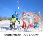 Group Of Children Playing On...