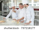 cooking class culinary bakery... | Shutterstock . vector #737218177