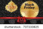 black friday sales background... | Shutterstock .eps vector #737233825