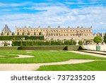 the gardens of the royal palace ... | Shutterstock . vector #737235205
