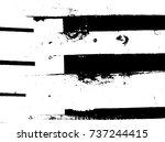 grunge old wood black cover... | Shutterstock .eps vector #737244415