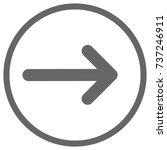 pointer  arrow in modern flat...