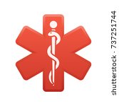 medicine symbol   of the...   Shutterstock .eps vector #737251744