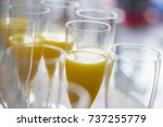 champagne and mimosas | Shutterstock . vector #737255779