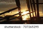 Amazing Sunset Through Sailing...