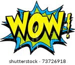 wow | Shutterstock .eps vector #73726918