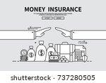 flat line vector editable... | Shutterstock .eps vector #737280505