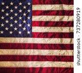 usa flag | Shutterstock . vector #737280919