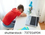 education  cyberbullying and... | Shutterstock . vector #737316934