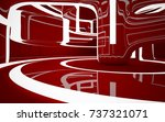 abstract dark interior... | Shutterstock . vector #737321071