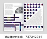 abstract vector layout... | Shutterstock .eps vector #737342764