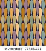 modern pattern design  babies... | Shutterstock .eps vector #737351131
