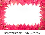 background of european spindle... | Shutterstock . vector #737369767