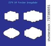 simple label | Shutterstock .eps vector #737380051