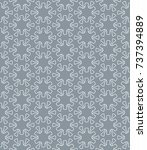 seamless geometric line pattern ... | Shutterstock .eps vector #737394889