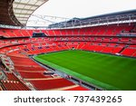 feb 24  2011 london  uk   red... | Shutterstock . vector #737439265