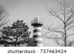 isolated red and white... | Shutterstock . vector #737463424