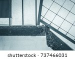abstract image of black steel... | Shutterstock . vector #737466031