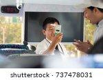 kaohsiung  taiwan   oct 02 ...   Shutterstock . vector #737478031