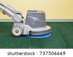 carpet chemical foaming ... | Shutterstock . vector #737506669