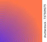 minimal artwork of colourful... | Shutterstock .eps vector #737509075