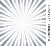 abstract hard gray white rays... | Shutterstock .eps vector #737514349