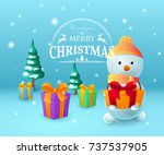 vector illustration with... | Shutterstock .eps vector #737537905