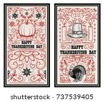happy thanksgiving day. banner