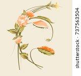 Spring Orange Flowers
