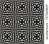 geometric grid pattern with... | Shutterstock .eps vector #737565829