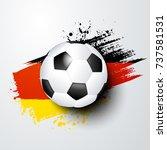 football world or european...   Shutterstock .eps vector #737581531