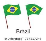 high detailed vector flag of... | Shutterstock .eps vector #737617249