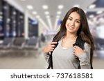 student. | Shutterstock . vector #737618581