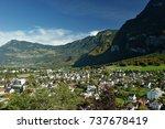holidays in liechtenstein | Shutterstock . vector #737678419