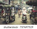 hanoi  vietnam   july 14 ... | Shutterstock . vector #737697529