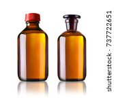 various medical bottles | Shutterstock . vector #737722651