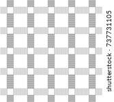 modern stylish thin line grid... | Shutterstock .eps vector #737731105