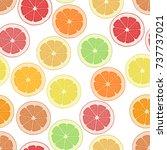 seamless pattern background... | Shutterstock . vector #737737021