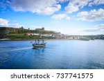 Classic Boat On Whitby Harbor...