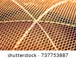rusty iron old rusty metal  | Shutterstock . vector #737753887