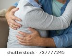 relationships  marriage and old ... | Shutterstock . vector #737777245