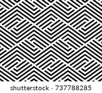 the geometric pattern by... | Shutterstock .eps vector #737788285