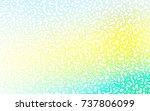 light green  yellow vector... | Shutterstock .eps vector #737806099