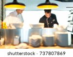 bistro. | Shutterstock . vector #737807869
