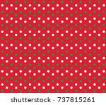 Christmas Vector Dot Backgroun...