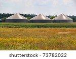biogas plant | Shutterstock . vector #73782022